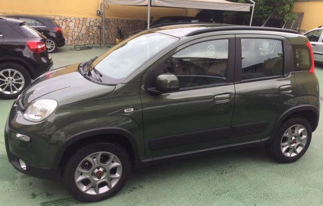 FIAT PANDA 1.3 MJT 95CV 4X4 F24 PAGATO ESTERA full