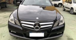 MERCEDES E220 CDI Coupé BlueEFFICIENCY Avantgard TETTO/NAVI/AUTO
