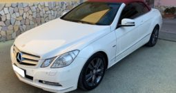 Mercedes-Benz E 220 CDI Cabrio BlueEFFICIENCY Avantgarde