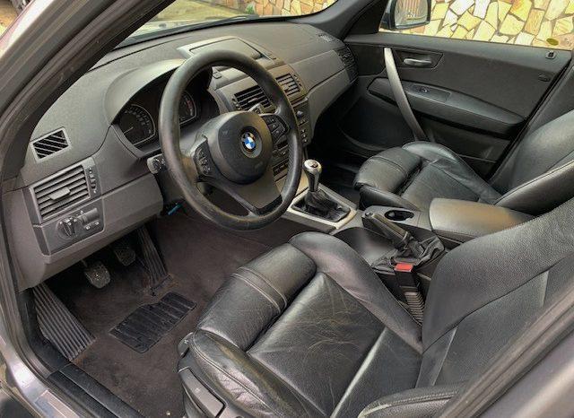 BMW X3 2.0d cat Futura full