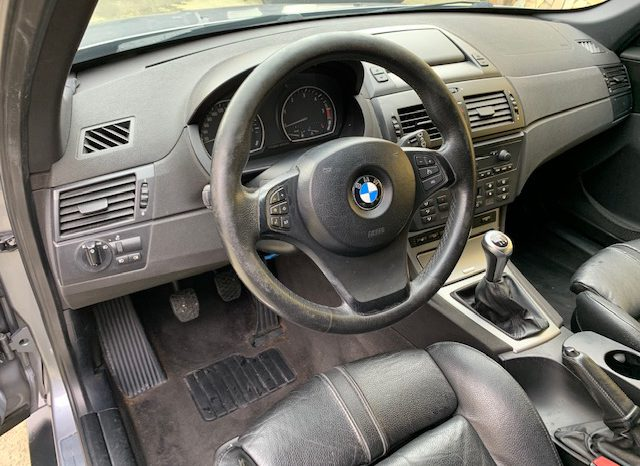 BMW X3 2.0d cat Futura full